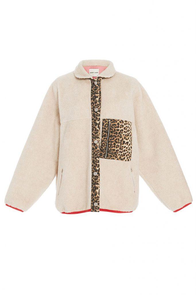 Sandy Liang shearling jacket