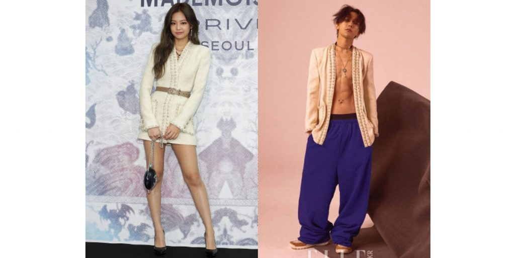 Chanel Couple From South Korea, G-Dragon and Jennie